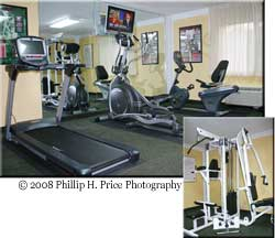 ClubHouse Inn & Suites Nashville Fitness Center